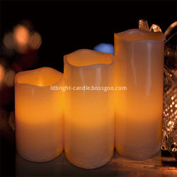 lilin LED Set dengan Ivory Design Luxury Collection