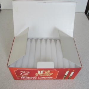 Ordinary Discount Cheap Plain Red Household Candles -