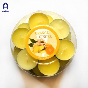 2018 new design gel mûman tealight bîhnxweş û rengîn