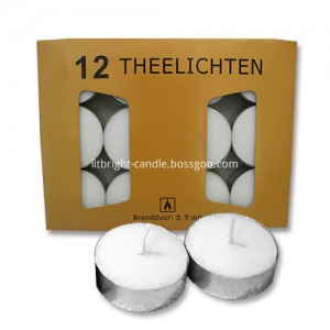 flameless tea light flickering wedding party
