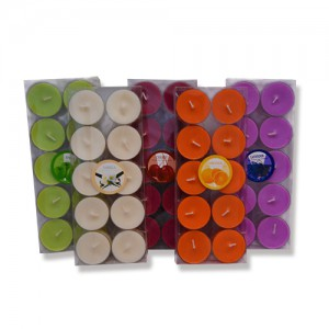 Festival decorative candele tealight profumate e colorate