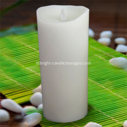 Ivory Moving Wick illuminazione votiva candela set