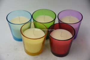 Wholesale OEM Glass Candle Holders -