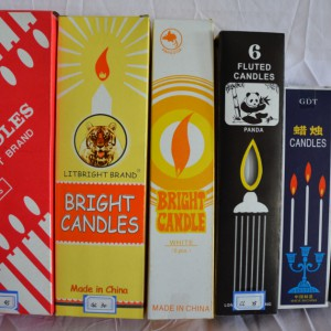 Factory Free sample Giant Pillar Candles -