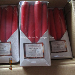 Traditional taper candle/decorative taper candle